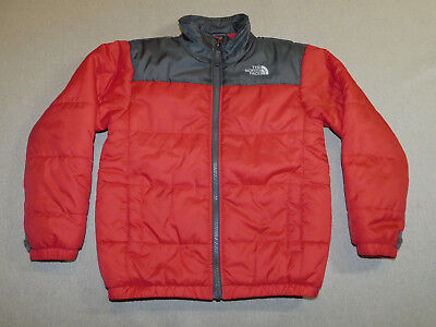 North Face Jacket Boundary Triclimate Insulated Liner #auss Red Boy's S 7 8