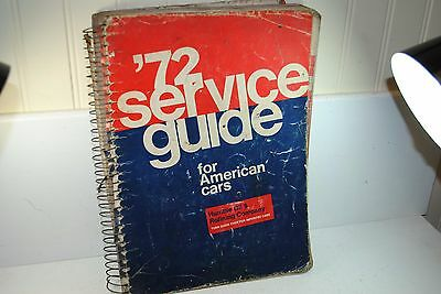 Humble Oil & Refining Co. 1972 Service Guide for Cars