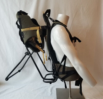 cab1a540f23 REI Tagalong Child Carrier Gray Black Tag-a-long Backpack FREE SHIPPING