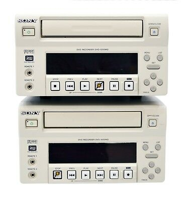 SONY DV0-1000MD Medical Video Recorder - Lot of 2