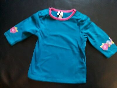 t-shirt bleu fille taille 3 mois comme neuf Orchestra
