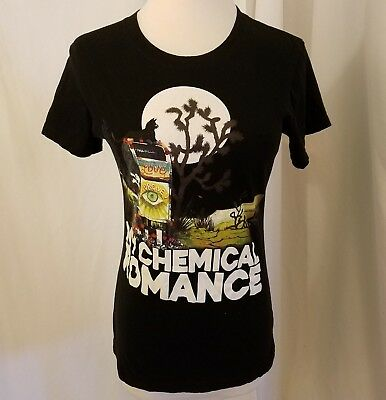 Black My Chemical Romance Emo Knives band Shirt women's XS SM ladies