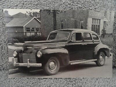 1940 Chrysler Used Car Salesman's Promotional Postcard NOS