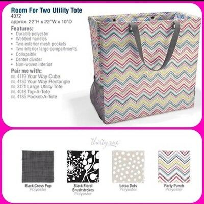 Thirty One 31 Room For Two Lots A Dots Retired New Package NIB Retired USA HTF