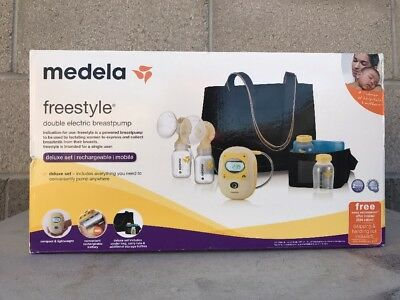 Brand New Sealed Medela Freestyle Double Electric Breast Pump