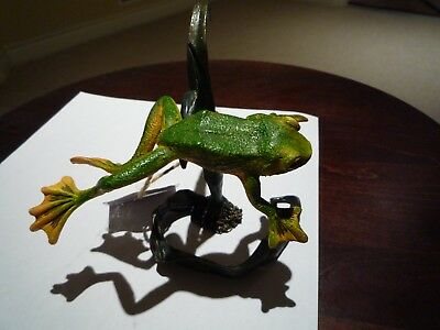 Country Artists Natural  Flying Frog #ca03979 Figurine *new*