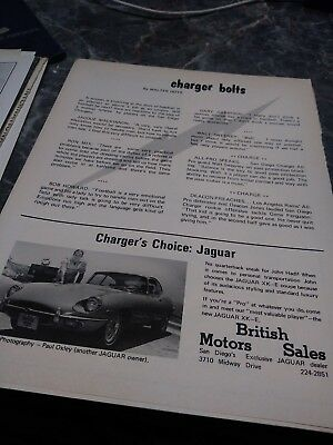 lot 7 jaguar ads xke photo poster vintage rare