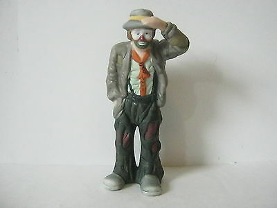 Emmett Kelly Jr Porcelain Clown Figurine Flambro