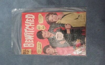 •VintageBEWITCHED #6 DELL COMICS 1966 TV