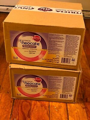 (4) cans Neocate Syneo neocate Infant 14.1oz NEW FREE SHIPPING!!