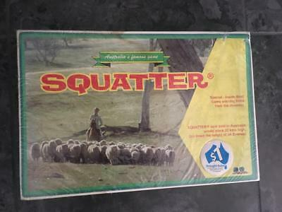Vintage Squatter The Australian Wool Board Game - New /new Condition