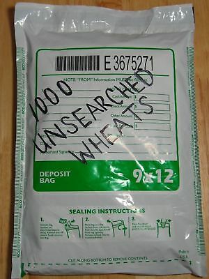 1000+ Wheat Pennies Old Coin Lot Sealed Bank Bag Lincoln Cents 1909-1958Pds.