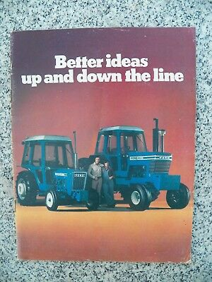 1977 Ford Farm Equipment Brochure