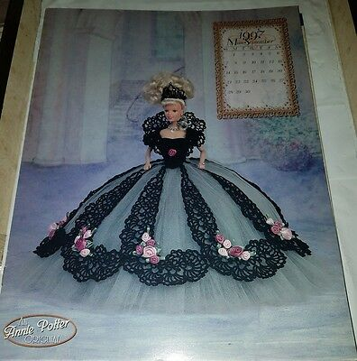 Jn007 Annie Potter's 1997 The Royal Ballgowns, Miss September ~ Crochet Pattern