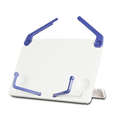 Plastic Book Document Stand Reading Desk Holder Bookstand Tilt hr3