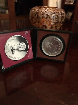 Best Silver Canadian Olympic Coin 1976 KINGSTON may have Rare Insert