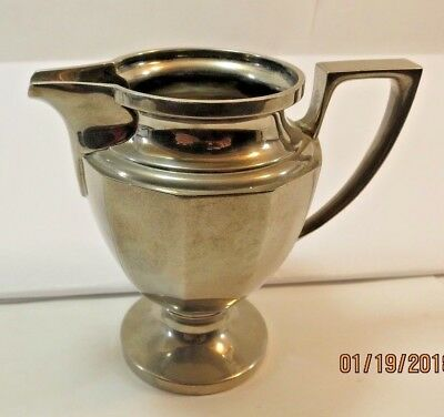 Vintage Universal Silver Plated Creamer