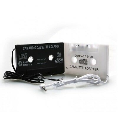 UNIVERSAL CAR AUDIO TAPE  CASSETTE TO FIT MP3 WALKMAN IPOD PC 3.5mm CONNECTION