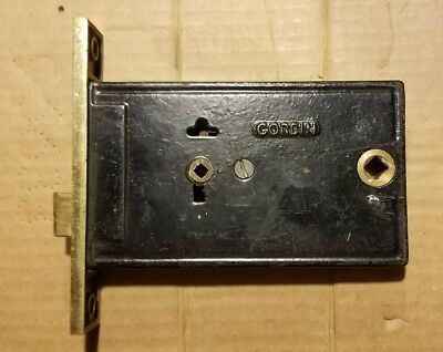Antique Corbin Mortise/ Rim Lock From Late-1800s