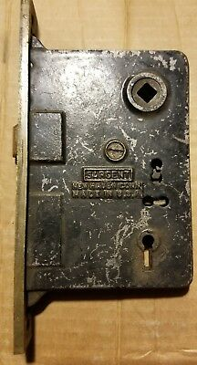 Sargent Mortise/ Rim Lock from the Late-1800s All Original