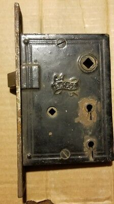 RHC Vintage Mortise Door Lock from the Mid-1800s