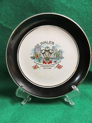 Prince Charles 1969 Investiture Plate by Liverpool Load Pottery LTD