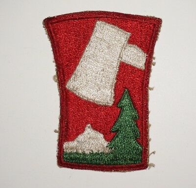 70th Infantry Patch WWII US Army P5957