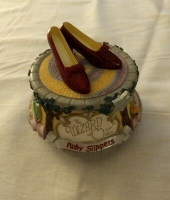 The San Francisco Music box company Ruby Slippers Must see