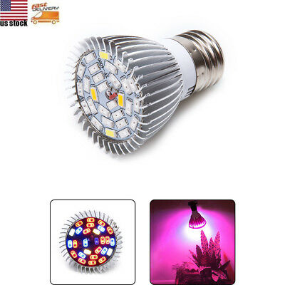 E27 LED Plant Grow Light Full Spectrum Lamp Bulb Indoor Flower Hydroponic Veg US