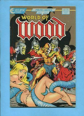 World of (Wally)  Wood #1 Eclipse Comics April 1986 Dave Stevens Cover