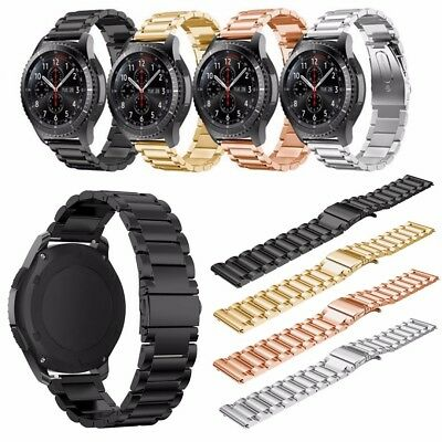 New Luxe Stainless Steel Watch Band Strap Link Bracelet For Samsung Gear S3
