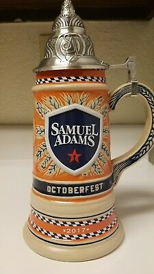 Sam Adams 2017 Octoberfest Beer Stein limited edition collectors item