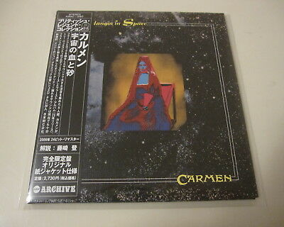 Carmen - Fandangos In Space MINI LP CD