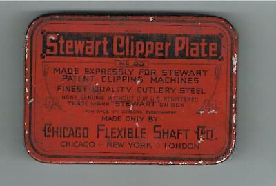 Stewart Clipper Plate With Tin - Chicago Flexible Shaft Co.