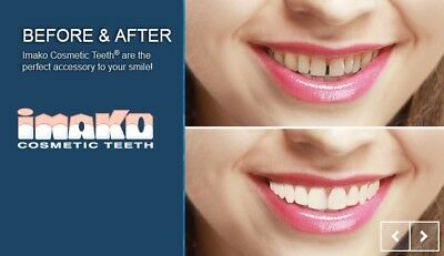 Imako Cosmetic Perfect Teeth Cover Veneer Smile in a box.