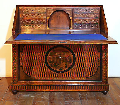 Dresser FORE Inlaid in MARQUETERIE Old Inlaid Marqueterie Dresser Flap 1870