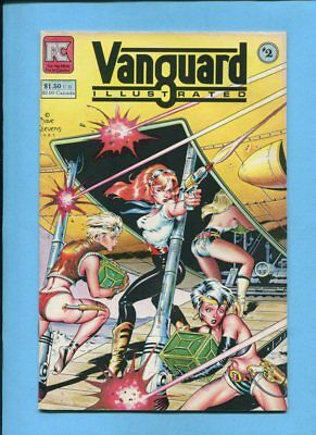 Vanguard Illustrated #2 Pacific Comics Jan 1984 Dave Stevens Cover