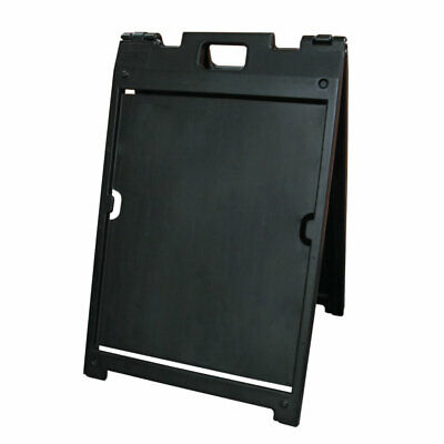"The ""Signicade MDX"" Portable Sign Stand - Black"