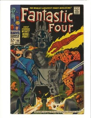 Fantastic Four 80 (1968) First Tomazooma, the Living Totem!!