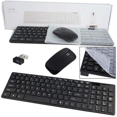 BLACK WIRELESS MINI Keyboard & Mouse for Polaroid 40