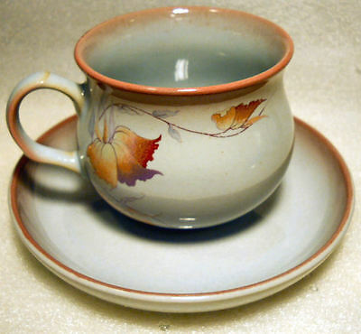"""Perfect Vintage Denby  """" Twilight """" Series Cup And Saucer"""
