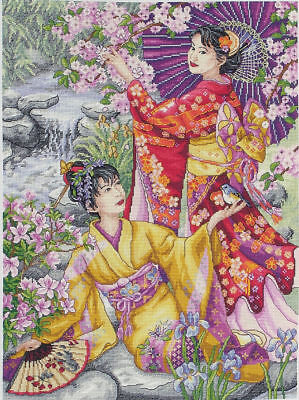 Counted Cross Stitch Kit ANCHOR - Maia Collection - Geishas