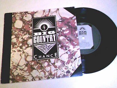 """BIG COUNTRY """"chance""""-7""""-single, COUNT 4, with softcover"""