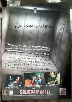 Silent Hill Poster Ad Print Playstation