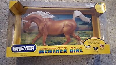 Breyer Weather Girl Palomino Sunny Arabian Mare New in Box NIB Discontinued