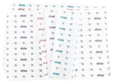"Blue, Red, and Purple eBay-Branded Tissue Paper Multi-Pack 20"" x 30"""