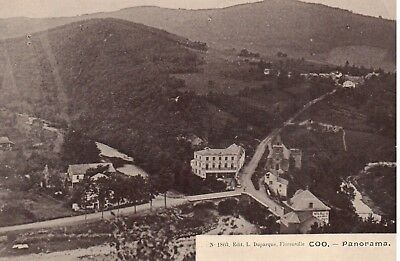 carte postale - Stavelot - Coo - CPA - Panorama