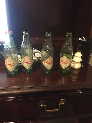 Rare Hutchinson coke bottles
