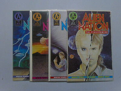 Alien Nation the Firstcomers, Set:#1-4, 8.0/VF (1991)