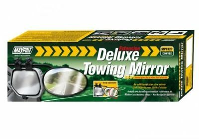Maypole 8327 Deluxe Convex Glass Extension Wide Side Caravan Towing Mirror